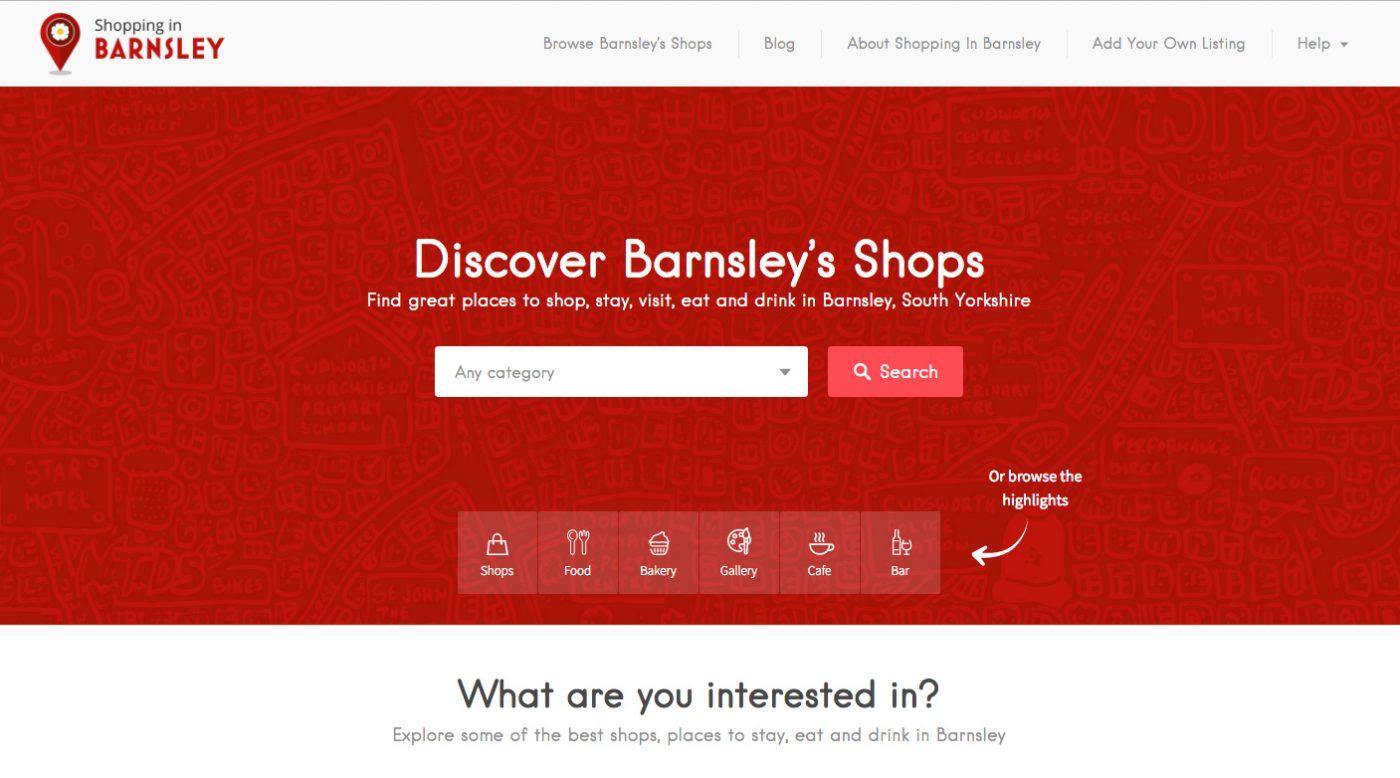 Shopping in Barnsley