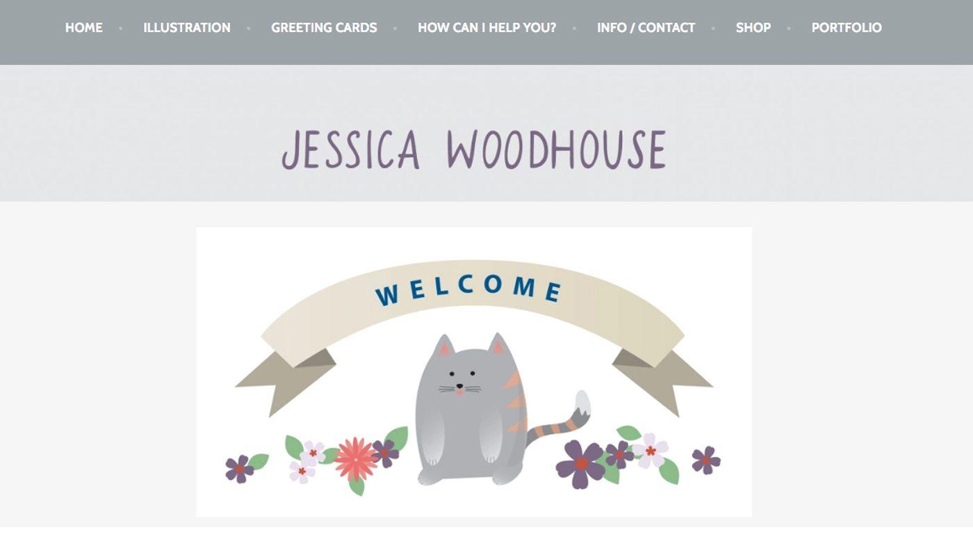 Jessica Woodhouse Artist