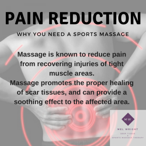 Mel Wright Massage Therapy Pain Reduction