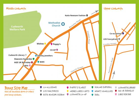 Cudworth Bunny Trail Map