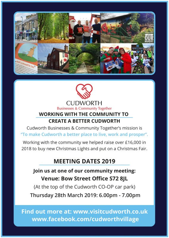 Cudworth Community Meeting
