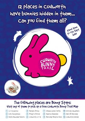 Cudworth Bunny Trail Poster 4